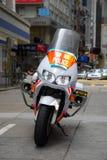 motorbikepolis Arkivbilder