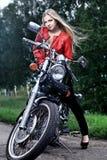 Motorbiker Stock Images