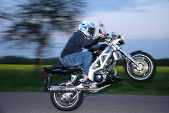 Motorbiker Stock Photos