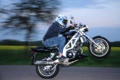 Motorbiker Stock Foto's