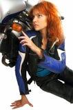 Motorbiker Royalty Free Stock Photos