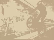 Motorbiker Royalty Free Stock Images