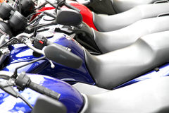 Motorbikes Stock Photography