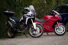 motorbikes Arkivfoton