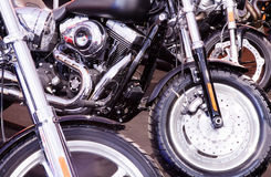Motorbikes close up Royalty Free Stock Photo