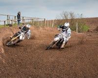 Motorbikes Overtaking Stock Photos