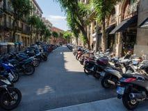 Motorbikes Stock Photo