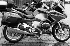 Motorbikes on street Royalty Free Stock Photo