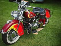 Motorbikes - The Tatton Park Stars and Stripes American Car Show royalty free stock photography