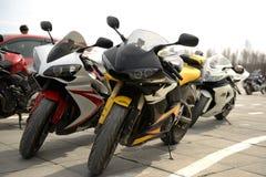 Motorbikes Stock Image
