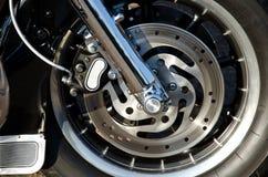 motorbikeshjul Royaltyfri Fotografi