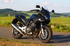 motorbikesport royaltyfri bild