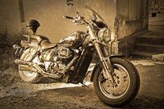 motorbiketappning Arkivbilder