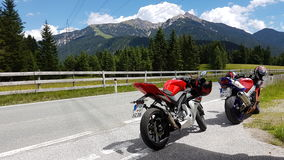 Motorbiketour Imagem de Stock