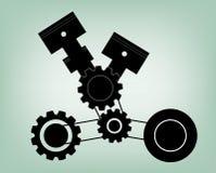 Motorbild vektor illustrationer