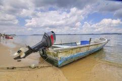 motorboat ξύλινο Στοκ Εικόνες