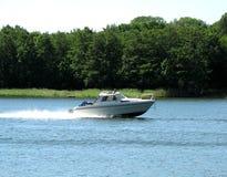 Motorboat Imagem de Stock Royalty Free