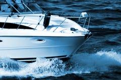 motorboat arkivbilder