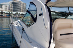 motorboat royaltyfria foton