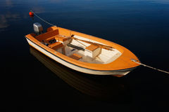 Motorboat στοκ εικόνες με δικαίωμα ελεύθερης χρήσης