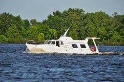 Motorboat arkivfoton
