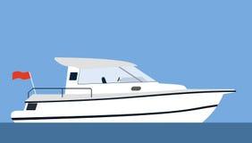 motorboat Royaltyfria Bilder