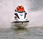 Motorboat Athlete Stock Photography