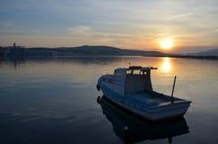 Motorboat. Bandırma Balıkesir Türkiye Stock Images