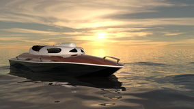 Motorboat Stock Images