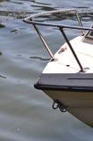 Motorboat jachtu łęk Obrazy Stock