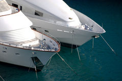 Motorboat at Monaco. Royalty Free Stock Images