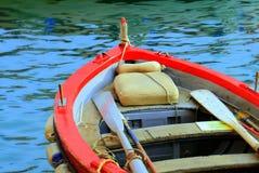 Motorboat po środku błękitne wody Jeziorny Tahoe, Kalifornia, Stany Zjednoczone Obrazy Stock