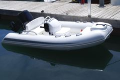 Motorboat. powerboat Royalty Free Stock Images