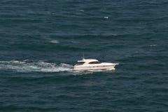 Motorboat at sea Stock Photos