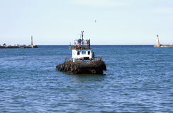 motorboat target1171_0_ Obrazy Royalty Free