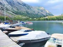motorboats Stockfotos