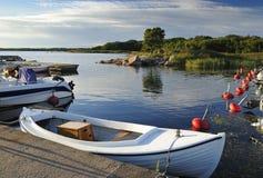 motorboatseaport Fotografering för Bildbyråer