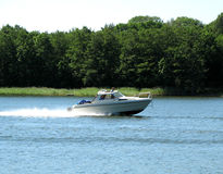 Motorboot Lizenzfreies Stockbild