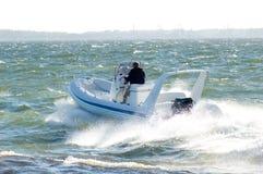 Motorboot 20 stock fotografie