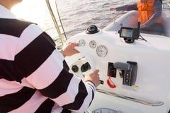 Motorboot 3 royalty-vrije stock fotografie