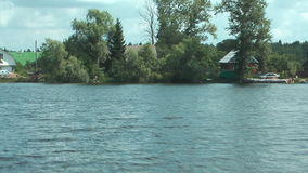 Motorboot. stock footage