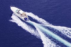 Motorboot Royalty-vrije Stock Fotografie