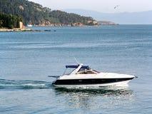Motorboot stock foto's