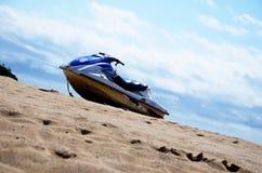 Motorboot. On the beach Stock Photo