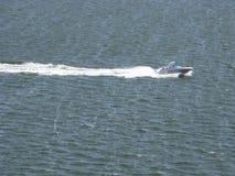 Motorboot Charleston Harbor South Carolina 2 Royalty-vrije Stock Afbeeldingen