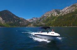 Motorboot - Openluchtpret! Royalty-vrije Stock Afbeeldingen