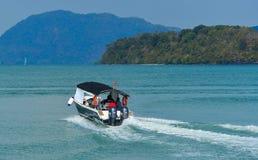 Motorboot van Koninklijke Maleise Marine royalty-vrije stock afbeeldingen