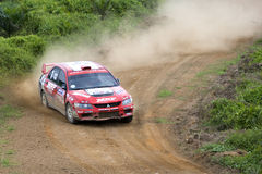 Motorcar Rally Action Stock Photos