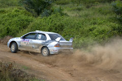 Motorcar Rally Action Stock Image