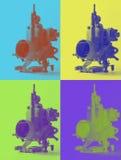 Motorcarburator Royalty-vrije Stock Foto's